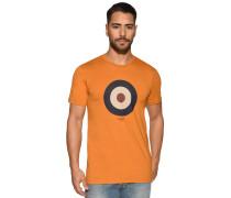 Kurzarm T-Shirt ocker