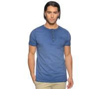 Kurzarm T-Shirt blau