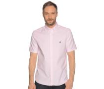 Kurzarmhemd Regular Fit rosa