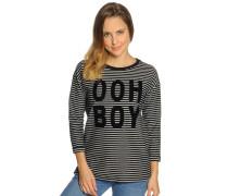 Sweatshirt schwarz/weiß