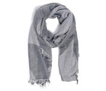 Schal grau/schwarz