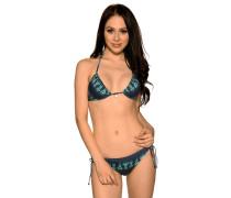 Bikini navy/mint