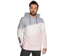 Sweatshirt grau meliert/rosa