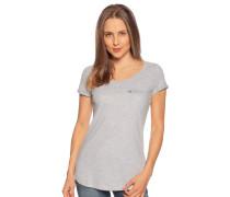 Kurzarm T-Shirt grau/melange