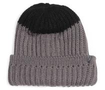 Mütze grau/schwarz