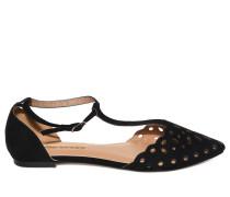 Sandalen, Schwarz, Damen