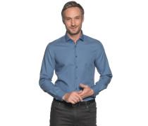 Business Hemd Slim Fit graublau