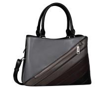 Handtasche schwarz/grau