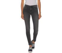 Jeans Skinny Mid Rise grau