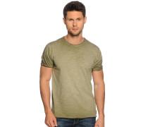 Kurzarm T-Shirt oliv