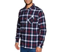 Hemd Regular Fit blau/rot/weiß