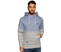 Sweatshirt blau/grau
