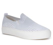 Slipper weiß/silber