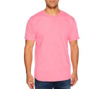 Kurzarm T-Shirt neonpink