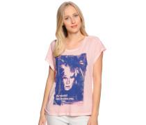 Kurzarm T-Shirt rosa