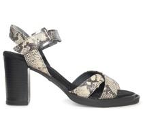 Sandaletten offwhite/braun
