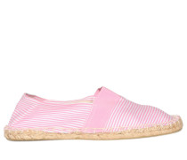 Espadrilles rosa/weiß