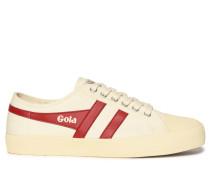 Sneaker, offwhite/rot