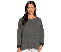 Pullover grau/silber