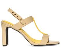 Sandaletten beige/gelb
