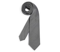 Krawatte schwarz/weiß
