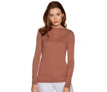 Pullover mit Kaschmiranteil rost