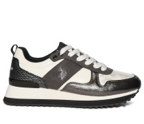 Sneaker anthrazit/weiß