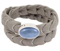 Armband grau/blau