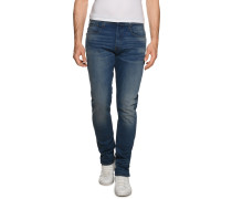 Jeans 3301 Tapered blau