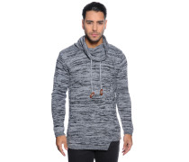 Pullover grau schwarz