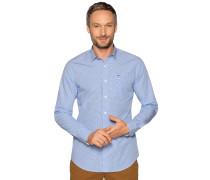 Business Hemd Regular Fit blau/weiß kariert
