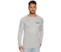 Pullover graublau meliert