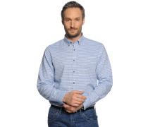 Business Hemd Regular Fit hellblau/weiß gestreift