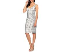 Kleid weiß/navy