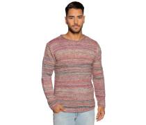 Pullover rot meliert