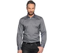 Business Hemd Regular Fit grau