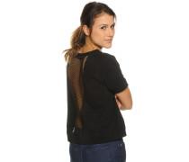 Kurzarm Roseindian T-Shirt nero
