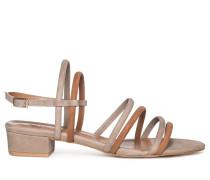 Sandalen taupe/braun