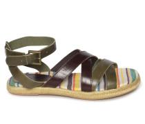 Sandalen khaki/braun