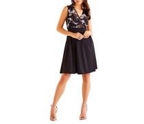 Kleid schwarz/braun