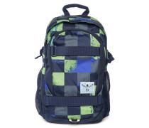 Rucksack blau/grün