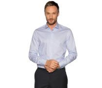 Business Hemd Custom Fit hellblau/weiß gestreift