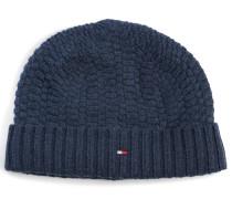 Mütze mit Kaschmiranteil navy