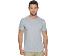 T-Shirt 2er Set grau meliert