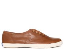 Sneaker cognac