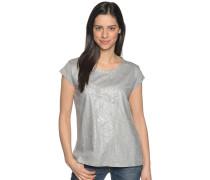 Kurzarm T-Shirt grau/silber