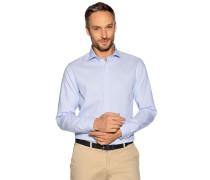Business Hemd Regular Fit weiß/blau