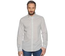 Business Hemd Regular Fit offwhite/blau gestreift