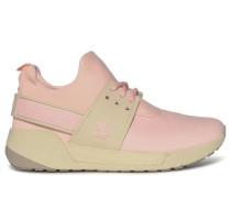 Sneaker, rosa/beige