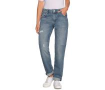 Jeans Violet Twist blau